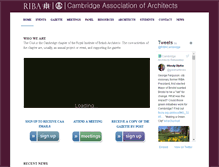 Tablet Preview of cambridgearchitects.org